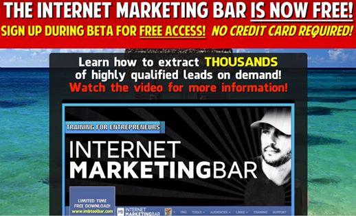 internet marketing bar